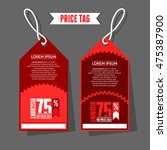 modern price tag template....   Shutterstock .eps vector #475387900