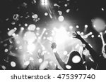 black and white photo of a... | Shutterstock . vector #475397740