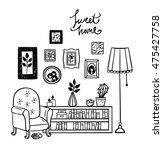 set of vector icons for living...   Shutterstock .eps vector #475427758