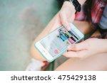 bangkok thailand   july 24 2016 ... | Shutterstock . vector #475429138