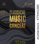 classical music concert poster... | Shutterstock .eps vector #475442380
