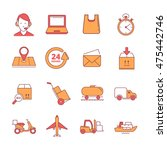 big vector linear icons set of...