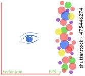 eye vector icon | Shutterstock .eps vector #475446274