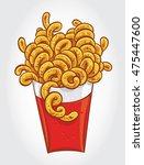 hand drawn vector illustration ... | Shutterstock .eps vector #475447600