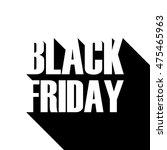 black friday sale banner for... | Shutterstock .eps vector #475465963