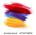 abstract acrylic painted... | Shutterstock .eps vector #475474894