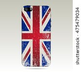 phone cases with grunge united...   Shutterstock .eps vector #475479034