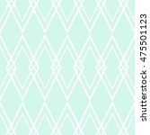 Tile Pattern Or Mint Green And...