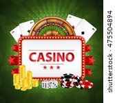 background on a casino theme.... | Shutterstock .eps vector #475504894