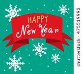 happy new year banner...   Shutterstock .eps vector #475519993