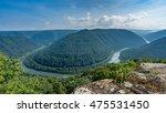 Panorama Of New River At Main...