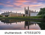 King Chapel In Cambridge At...