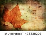 autumn background | Shutterstock . vector #475538203