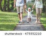 portrait of beautiful baby... | Shutterstock . vector #475552210