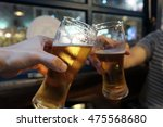 beer cheers hands | Shutterstock . vector #475568680