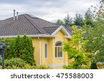 the top of the house or... | Shutterstock . vector #475588003