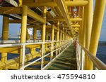 offshore oil and gas central... | Shutterstock . vector #475594810