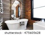 horizontal version freestanding ... | Shutterstock . vector #475605628