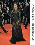 """Small photo of CANNES, FRANCE - MAY 16, 2016: Actress Ruth Negga at the gala premiere for """"Loving"""" at the 69th Festival de Cannes."""