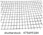 net pattern. rope net vector... | Shutterstock .eps vector #475695184