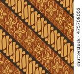 vector batik pattern indonesia   Shutterstock .eps vector #475708003