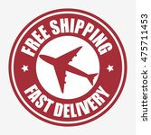 free shipping delivery icon... | Shutterstock .eps vector #475711453