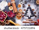 Christmas Cooking  Fir Tree...