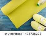 healthy lifestyle background.... | Shutterstock . vector #475726273