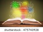 handbook. | Shutterstock . vector #475743928