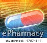 e medicine  online medicine ...   Shutterstock . vector #47574544