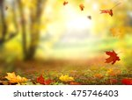 beautiful  landscape with...   Shutterstock . vector #475746403