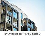 modern apartment building | Shutterstock . vector #475758850