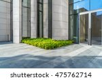 modern building outdoors with... | Shutterstock . vector #475762714