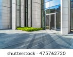 modern building outdoors with... | Shutterstock . vector #475762720