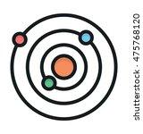 orbit vector icon   Shutterstock .eps vector #475768120