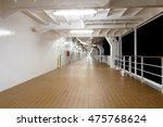 Promenade Deck Of A Cruise Shi...