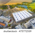 aerial view of industrial zone... | Shutterstock . vector #475772539