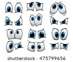 large set of people cartoon... | Shutterstock . vector #475799656