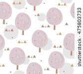 scandinavia seamless pattern... | Shutterstock .eps vector #475803733