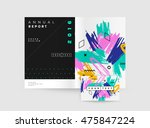 hand drawn universal art.... | Shutterstock .eps vector #475847224