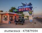 tucumcari  new mexico   may 13  ... | Shutterstock . vector #475879354