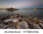 Tufa At The South Shore Of Mono ...