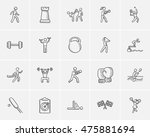 Sport Sketch Icon Set For Web ...