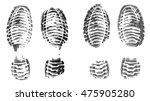 realistic shoe print ink stamp. ... | Shutterstock . vector #475905280