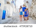 family vacayion in europe.... | Shutterstock . vector #475928710