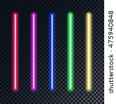 realistic bright colorful laser ...   Shutterstock .eps vector #475940848