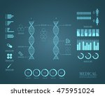medical infographics | Shutterstock .eps vector #475951024