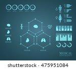 medical infographics | Shutterstock .eps vector #475951084