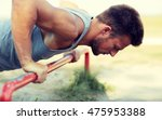 fitness  sport  exercising ... | Shutterstock . vector #475953388