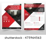 red black triangle business... | Shutterstock .eps vector #475964563